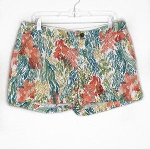 Old Navy water color Mid Rise Short